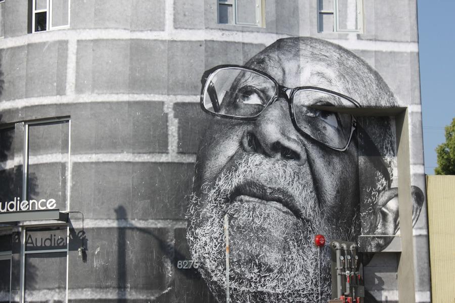 JR in Los Angeles - unurth | street art