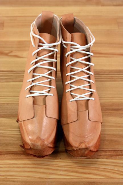 Boiled Leather Shoes - Elizabeth Moran