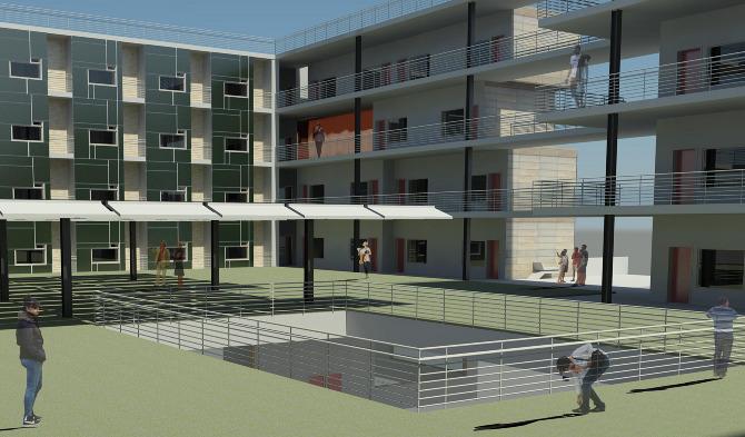 University Of Houston Honors College Dormitory Zapruder Design